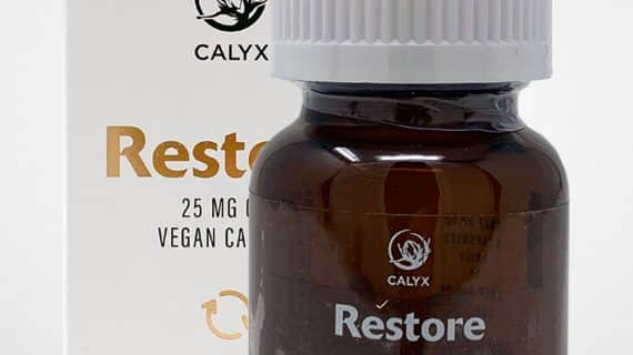 Calyx Vegan CBD Capsules 25mg