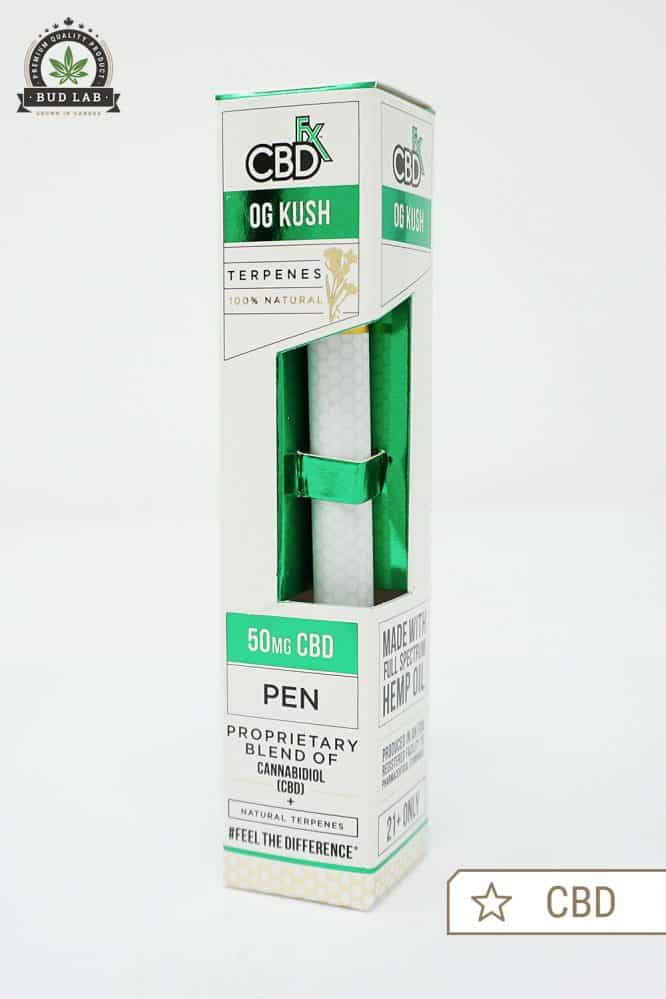 CBDfx Disposable Vape Pen OG Kush CBD