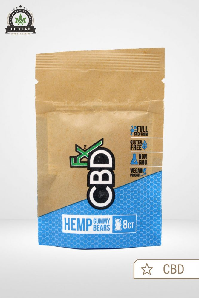 CBDfx Original Hemp Gummy Bears CBD
