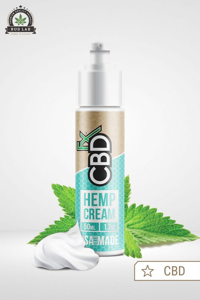 CBDfx Hemp Cream CBD 50ml