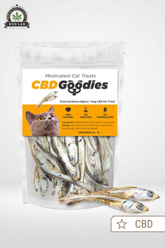 CBD Goodies Medicated Cat Treats 5mg