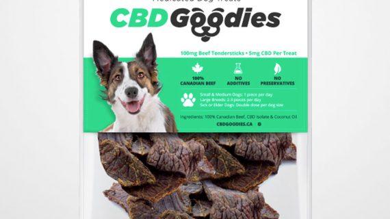 CBD Goodies Medicated Dog Treats 5mg