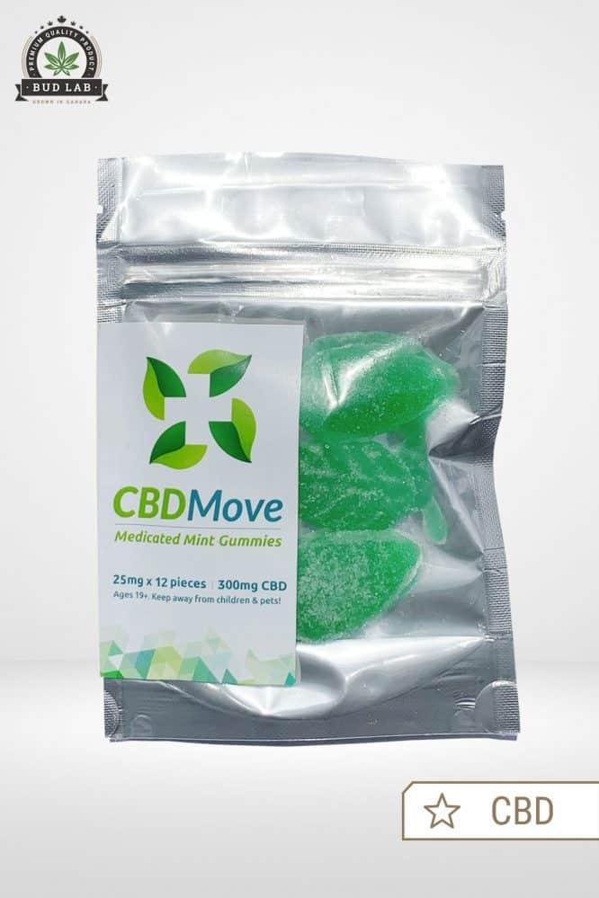 CBDMove Mint CBD Gummies 25mg