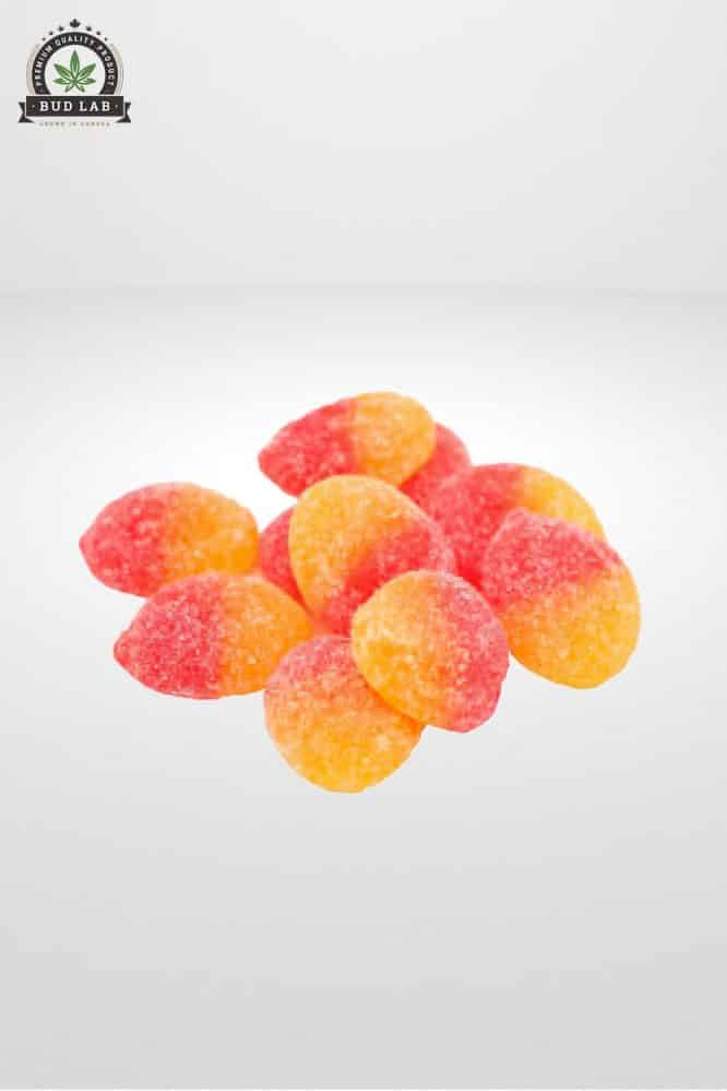 CBDMove Peach CBD Gummies 25mg 2
