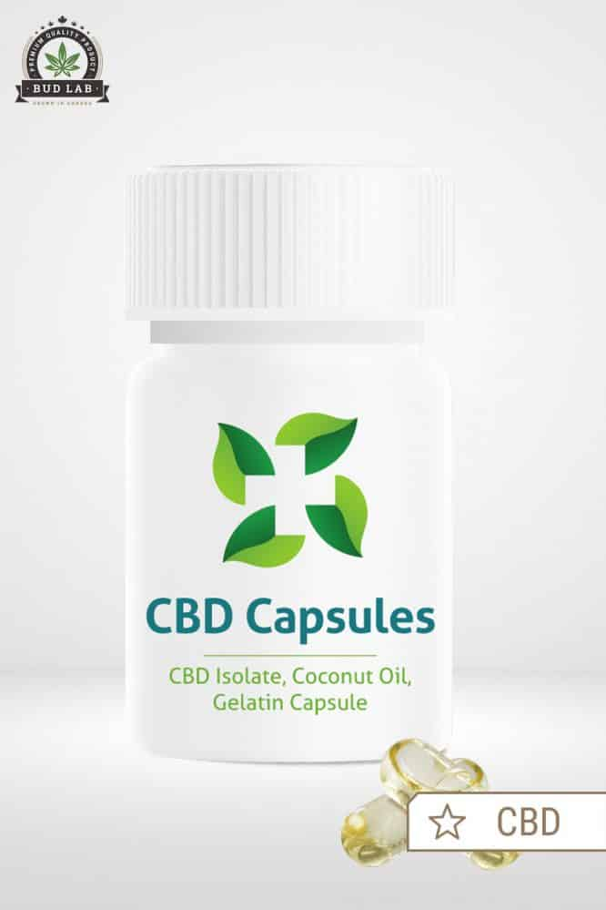 CBD Move Vegan Gel Caps 10mg