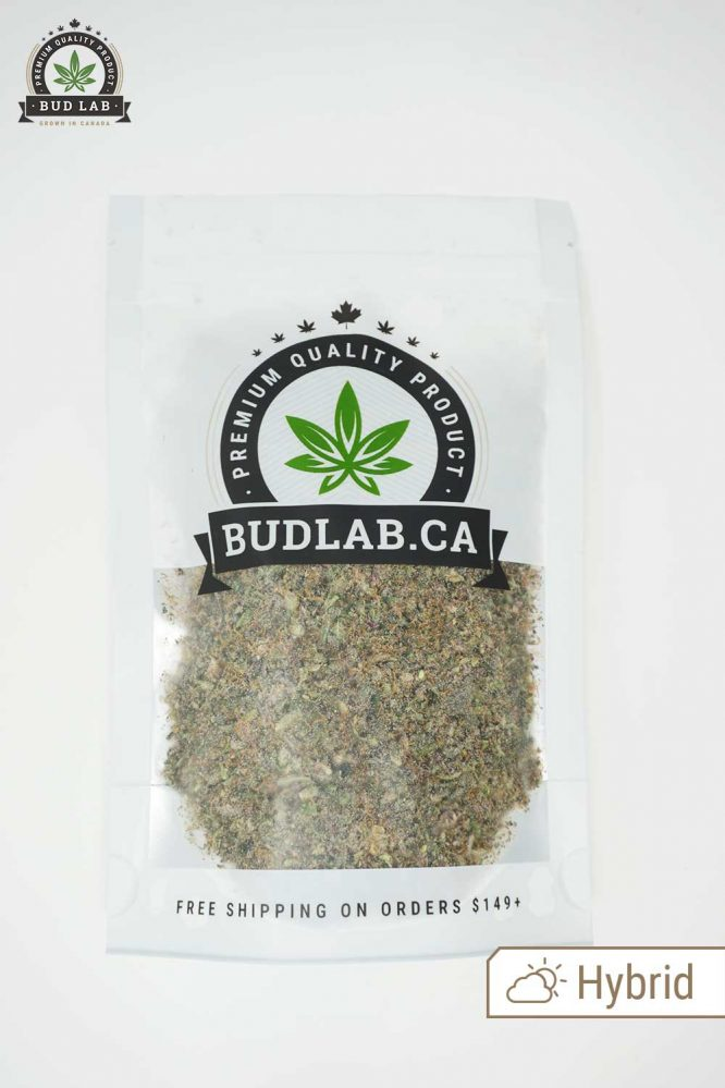 Bud Lab Mendocino Purps Shake Bag Hybrid