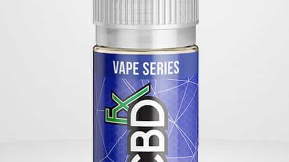 CBDfx CBD Vape Juice Blue Raspberry 500mg