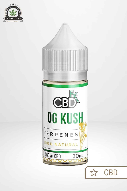 CBDfx CBD Terpenes Vape Juice OG Kush 250mg