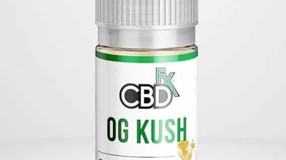 CBDfx CBD Terpenes Vape Juice OG Kush 500mg