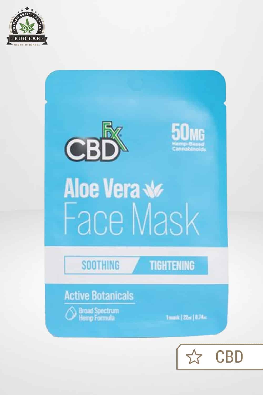 CBDfx CBD Face Mask Aloe Vera 50mg