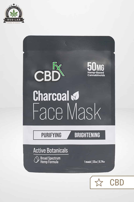 CBDfx CBD Face Mask Charcoal 50mg