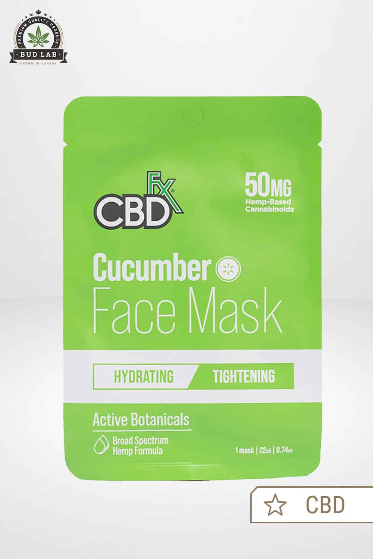 CBDfx CBD Face Mask Cucumber 50mg