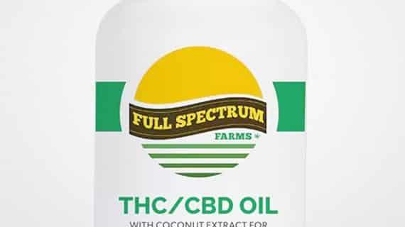 Full Spectrum Farms CBD/THC Hybrid Gel Capsules
