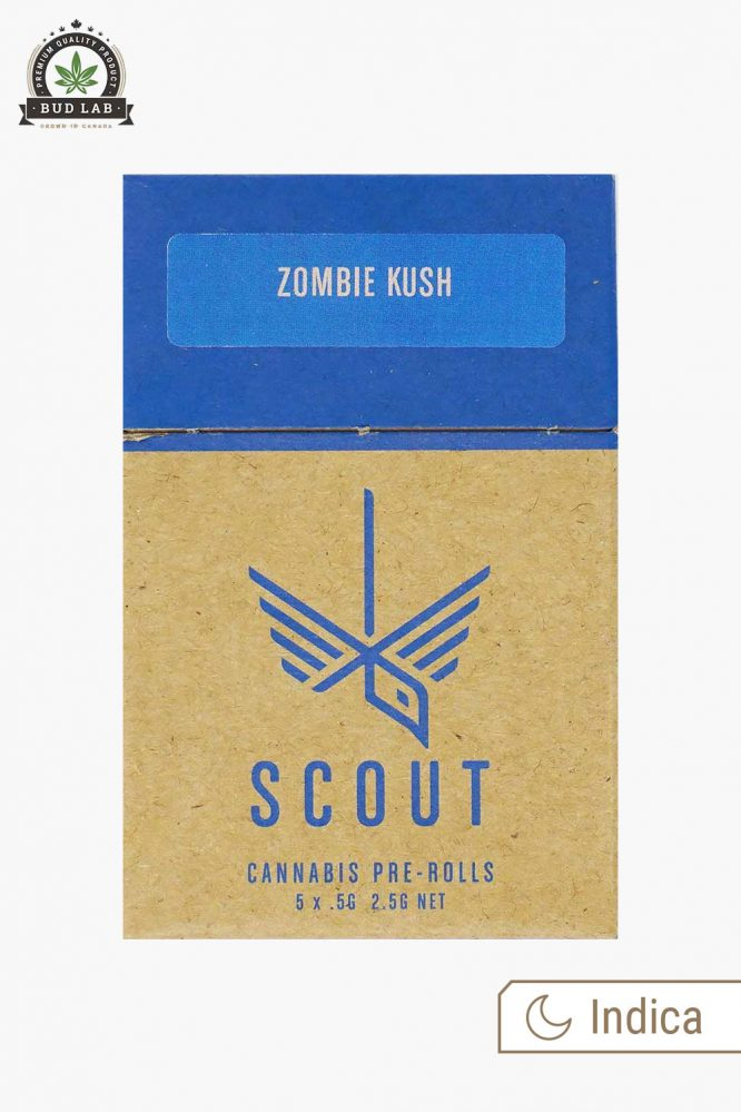 Scout Pre-Rolls Zombie Kush 5 Pack