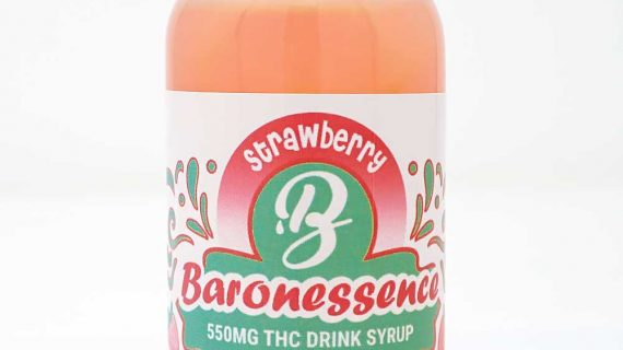 Baron Edibles Baron Strawberry Drink 120ml