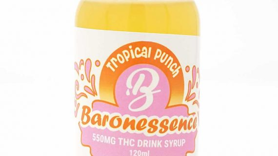 Baron Edibles Baron Tropical Punch Drink 120ml