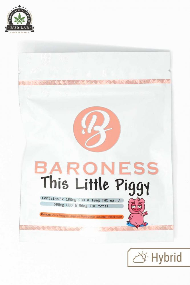 Baron Edibles The Little Piggy