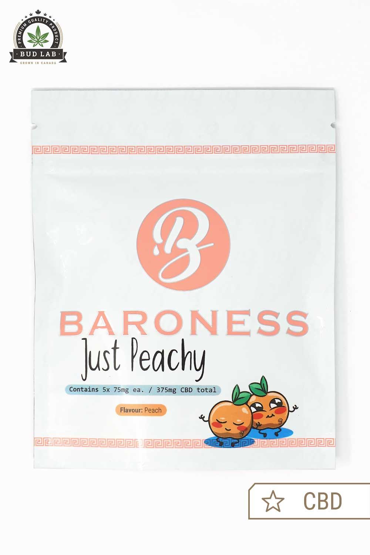 Baron Edibles Just Peachy CBD