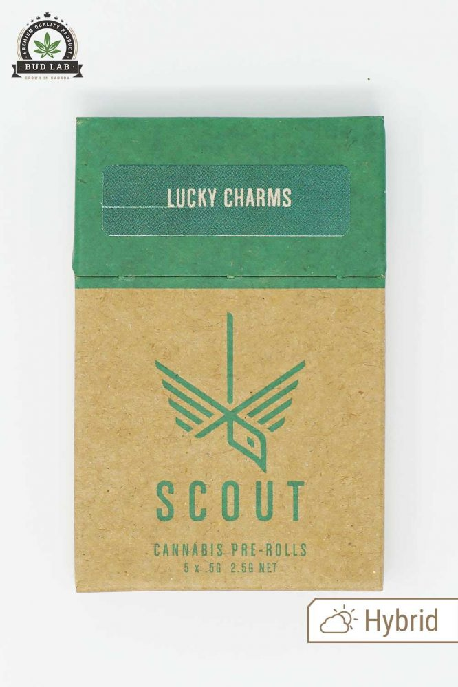 Scout Pre Rolls Hybrid Lucky Charms 5 Pack