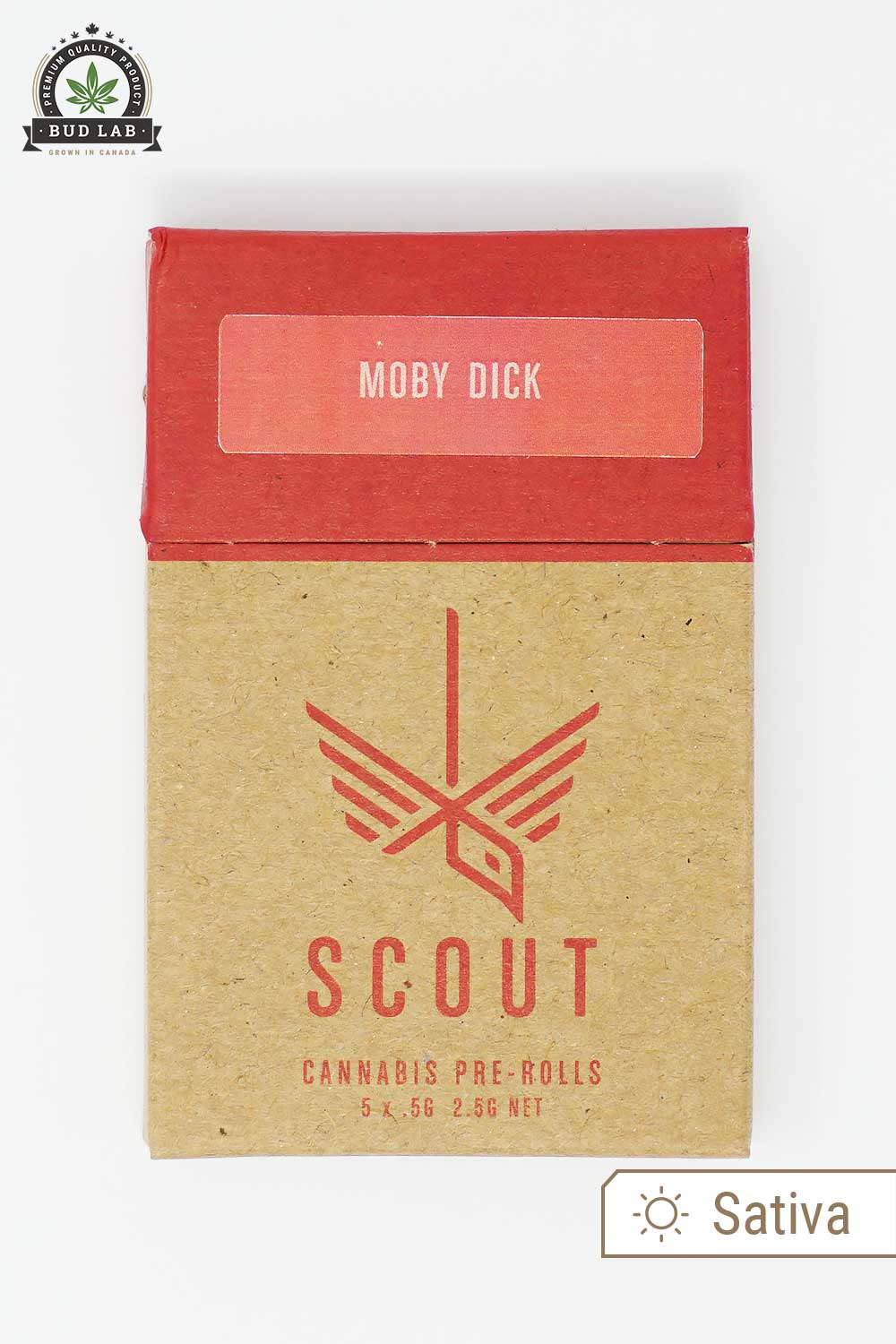 Scout Pre Rolls Sativa Moby Dick 5 Pack