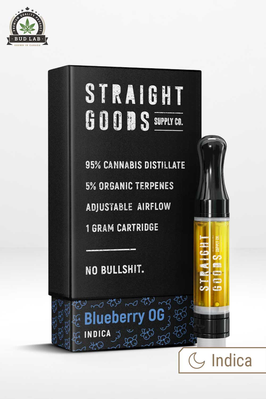 Straight Goods Indica Blueberry OG Vape Pen