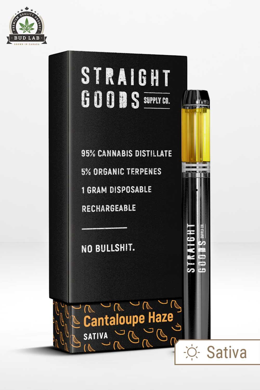 Straight Goods Sativa Cantaloupe Haze Vape Pen