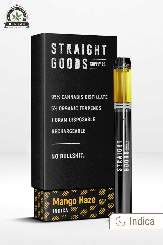 Straight Goods Indica Mango Haze Pen