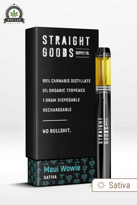 Straight Goods Sativa Maui Wowie Pen