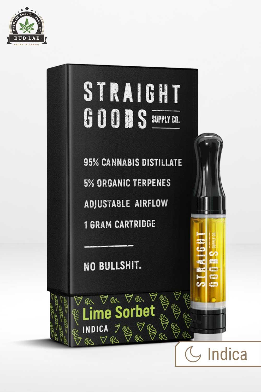 Straight Goods Indica Lime Vape Pen