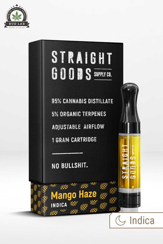 Straight Goods Indica Mango Haze Vape Pen