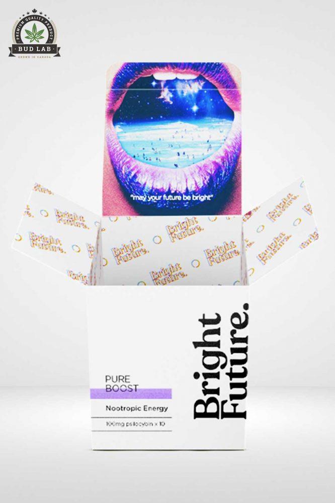 Bright Future Wide Pure Boost Microdose Mushrooms Open Lid