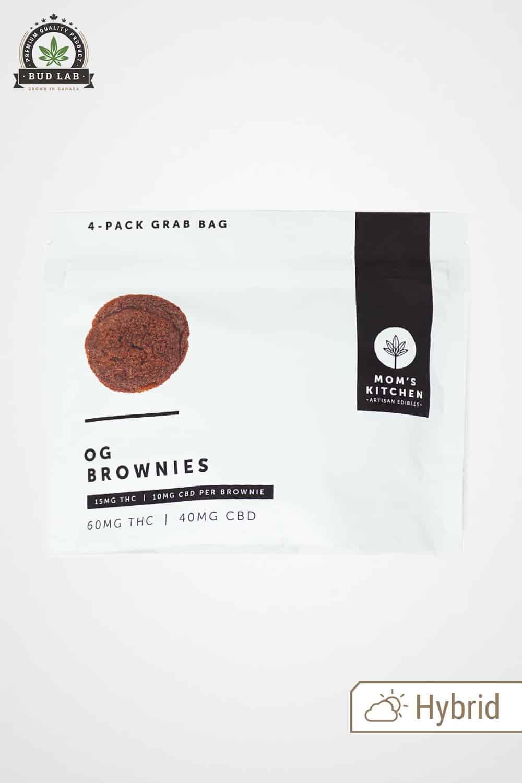Mom's Kitchen OG Brownies 4-pack Grab Bag