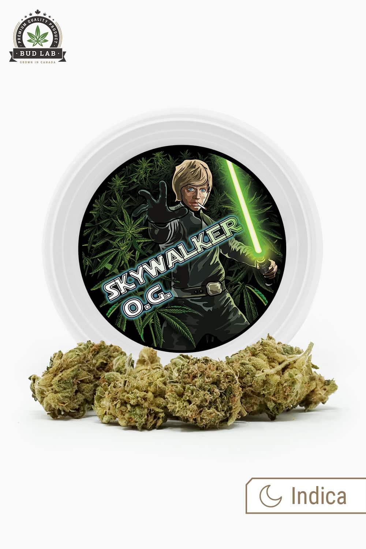 Westcoast Cali Skywalker OG, Can and Weed