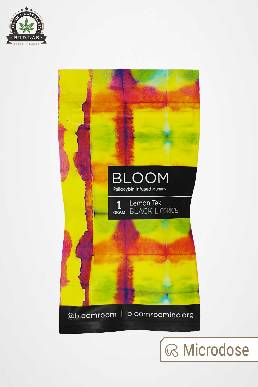 Bloom Black Licorice Edible Gummies