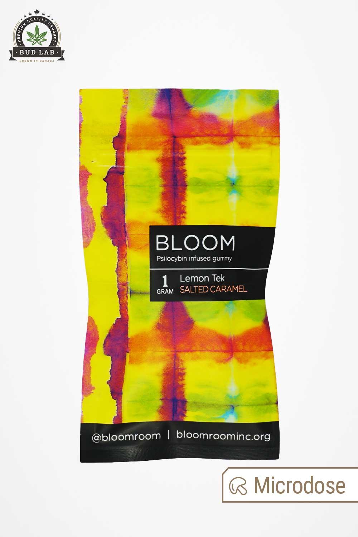 Bloom Lemon Tek Blueberry Gummy Package