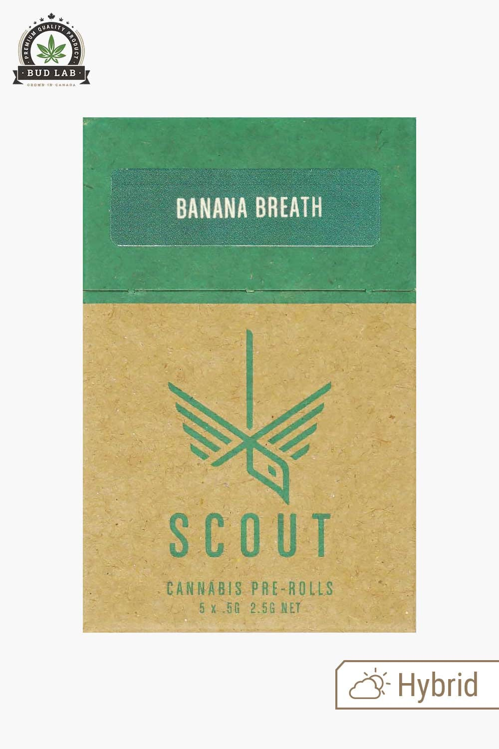 Scout Pre-Rolls Banana Breath 5 Pack