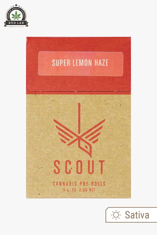 Scout Pre-Rolls Super Lemon Haze 5 Pack
