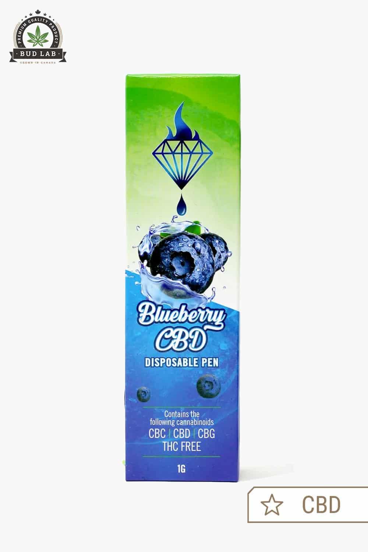 Diamond Concentrates Disposable Vape Pen Blueberry CBD