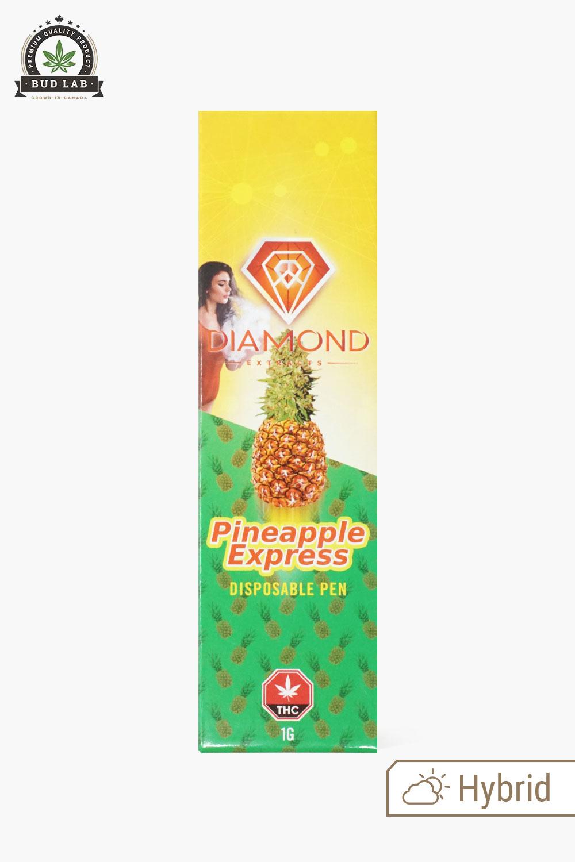 Diamond Concentrates Disposable Vape Pen Pineapple Express