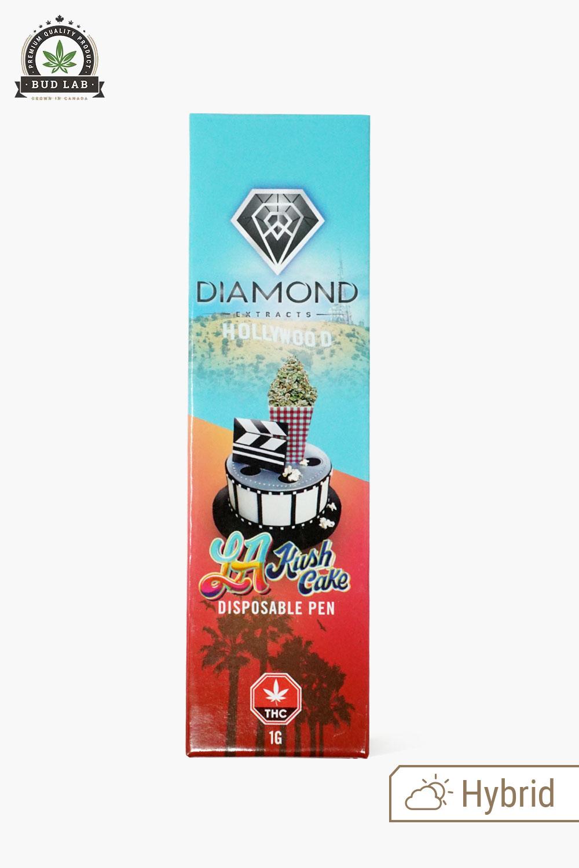 Diamond Concentrates Disposable Vape Pen LA Kush Cake