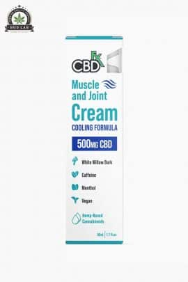 CBDfx Muscle And Joint Cream 500mg