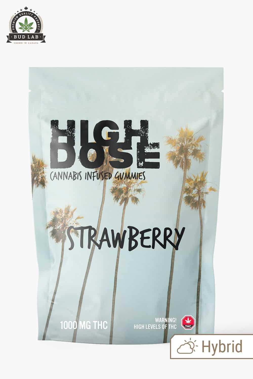 High Dose Hybrid Strawberry 1000mg