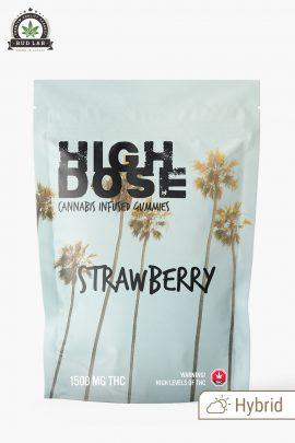 High Dose Hybrid Strawberry 1500mg