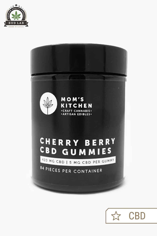 Moms Kitchen CBD Cherry Berry Gummies 2