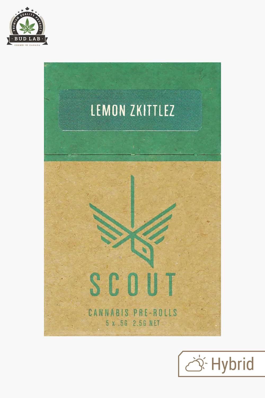 Scout Pre Rolls Lemon Zkittlez Hybrid