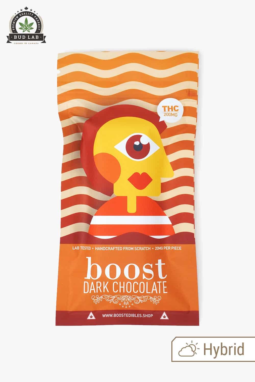 Boost Edibles Dark Chocolate Bar THC 200mg