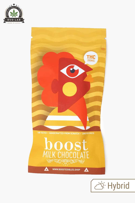 Boost Edibles Milk Chocolate Bar THC 200mg