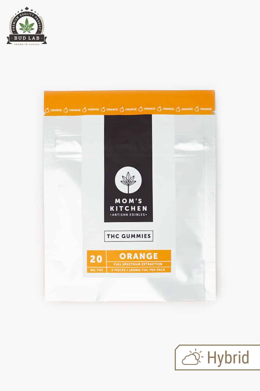 Moms Kitchen THC Gummies Orange 20mg