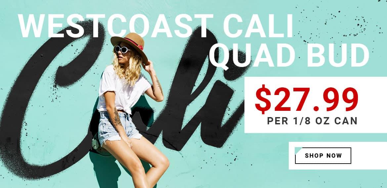 Westcoast Quad Bud Promo Home Slider 2