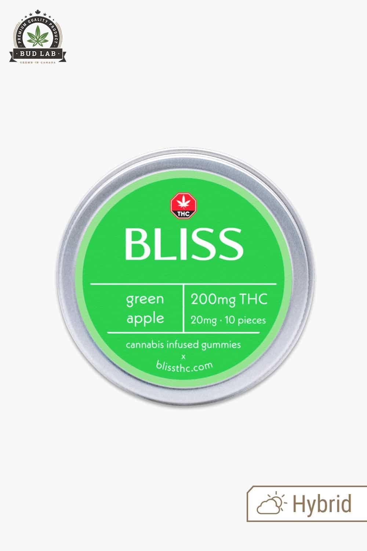 Bliss Green Apple Gummies 200mg THC 2